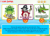 Action Verbs Present Simple Board Game Online