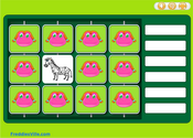 Zoo Animals Memory Game