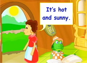 Weather & Clothes: How's the weather?