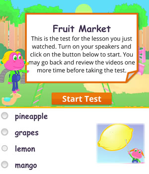 fruits test