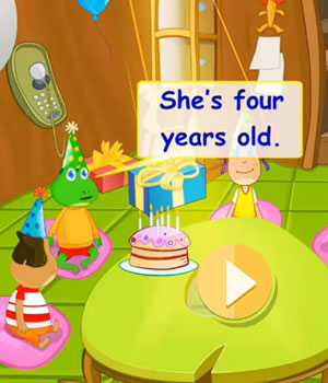 birthday video lesson