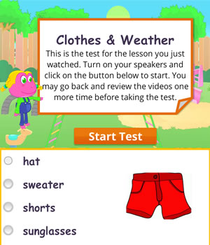 clothes weather test