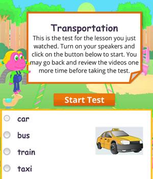 transportation test