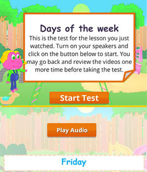 days-week test