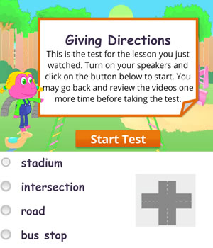 directions test