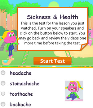 health-sickness test