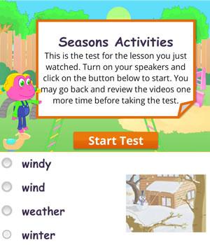 seasons-activities test