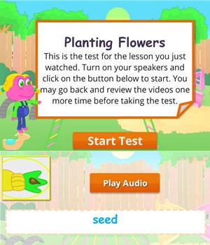 planting test