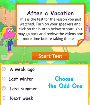 after-vacation test