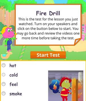 fire-drill test