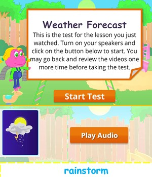 weather-forecast test