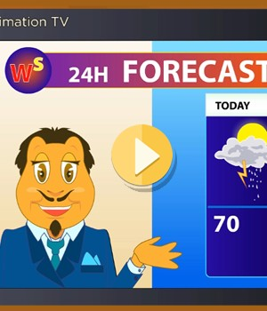 weather-forecast video lesson