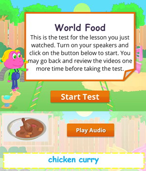 world-food test