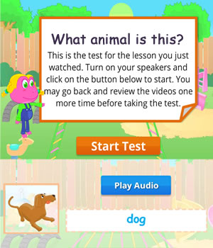 Farm animals test