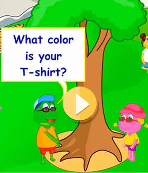 clothes-colors video lesson