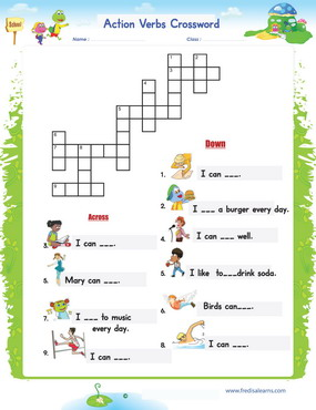 Actions Crossword1