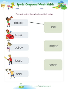 sports compound words