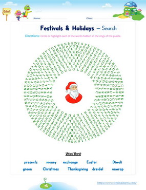 festivals holidays search