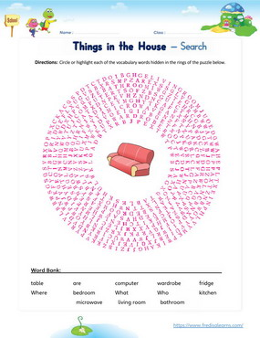 things in house search